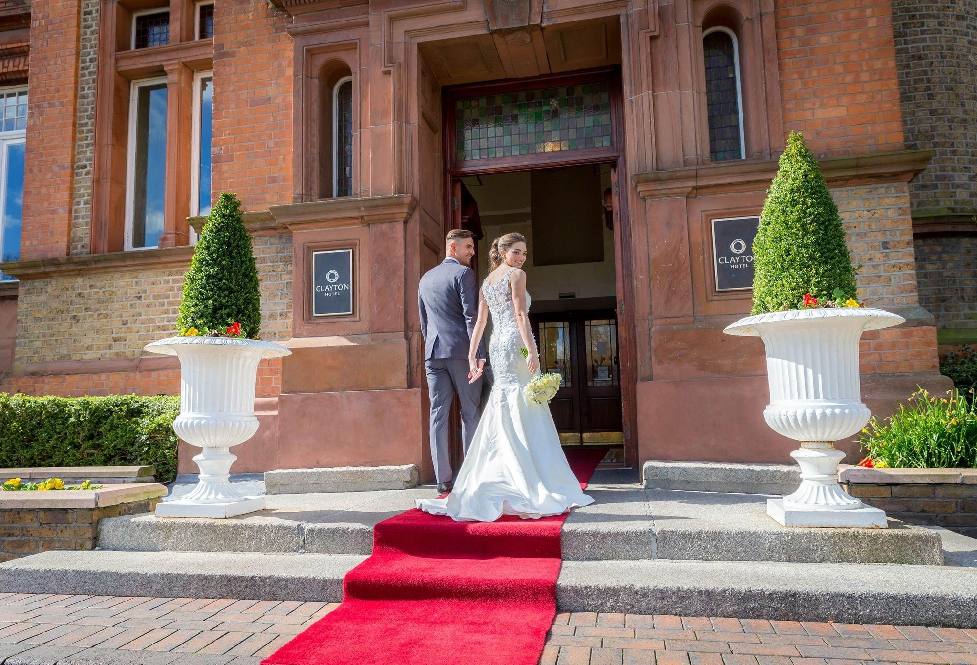 Bride-Groom-Enterance-Thomas-Prior-Hall