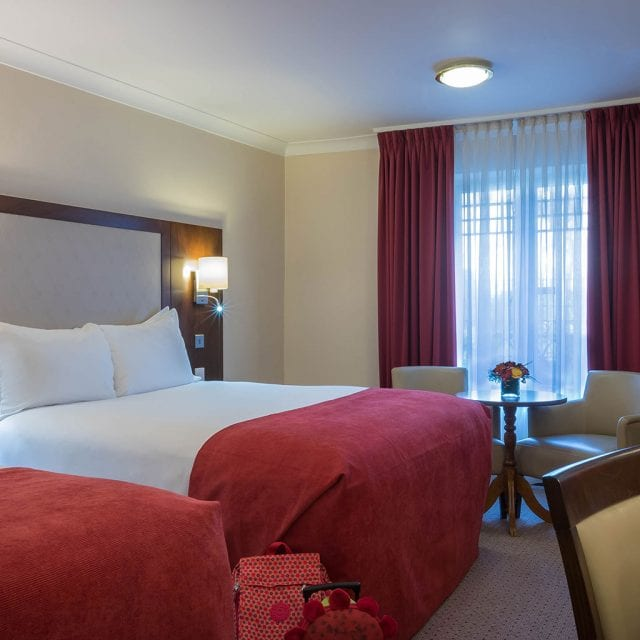 Deluxe Room at Clayton Hotel Ballsbridge