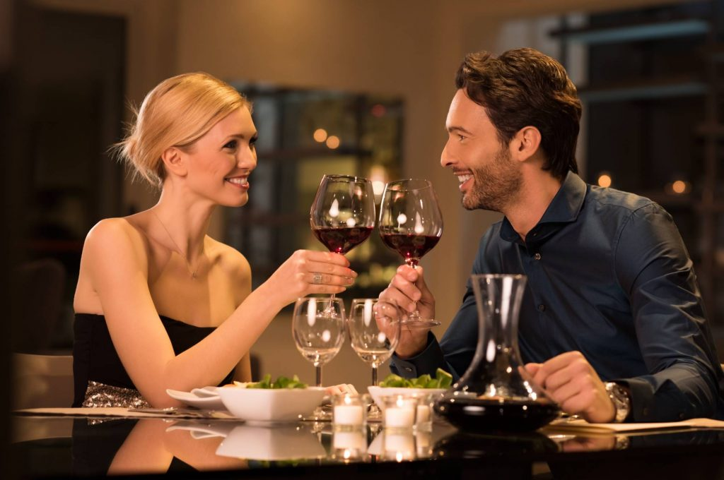 couple dining - clayton hotels